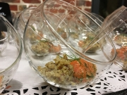 Gravad lachs - Quinoa