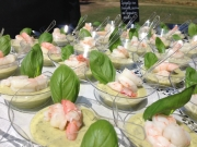 Langoustine - courgette