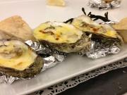 Gegratineerde oester
