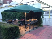 Opstelling BBQ